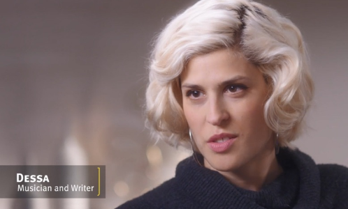 Dessa talking in an interview