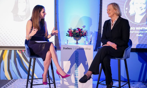 BoardForward Moira Forbes in conversation with Meg Whitman