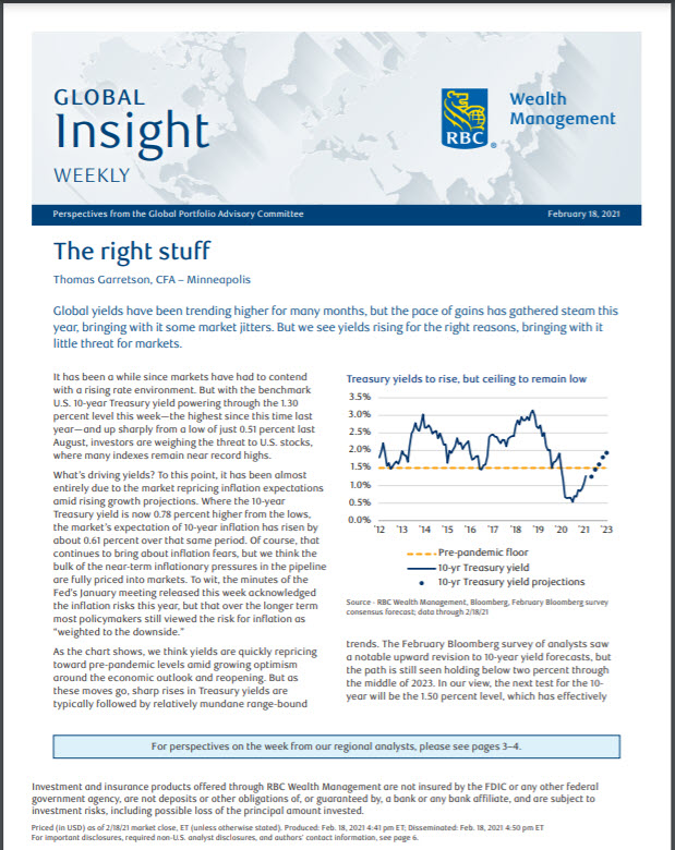 Global insight weekly cover image
