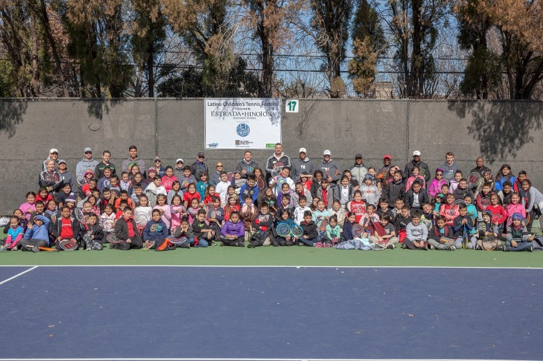 rbc tennis championships of dallas latino childrens tennis festival